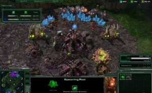 Screenshot ingame del juego StarCraft2